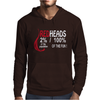Red Heads 100% OF THE Fun Mens Hoodie