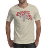 Red Heart Tree Mens T-Shirt