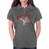 Red Heart Tree Womens Polo
