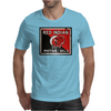 Red Indian Gasoline vintage sign. Rust version. Mens T-Shirt