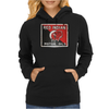 Red Indian Gasoline vintage sign. Rust version. Womens Hoodie