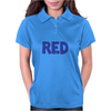 Red is Red. Womens Polo