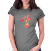Red-Kiss Womens Fitted T-Shirt
