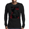 RED LOGAN Mens Long Sleeve T-Shirt