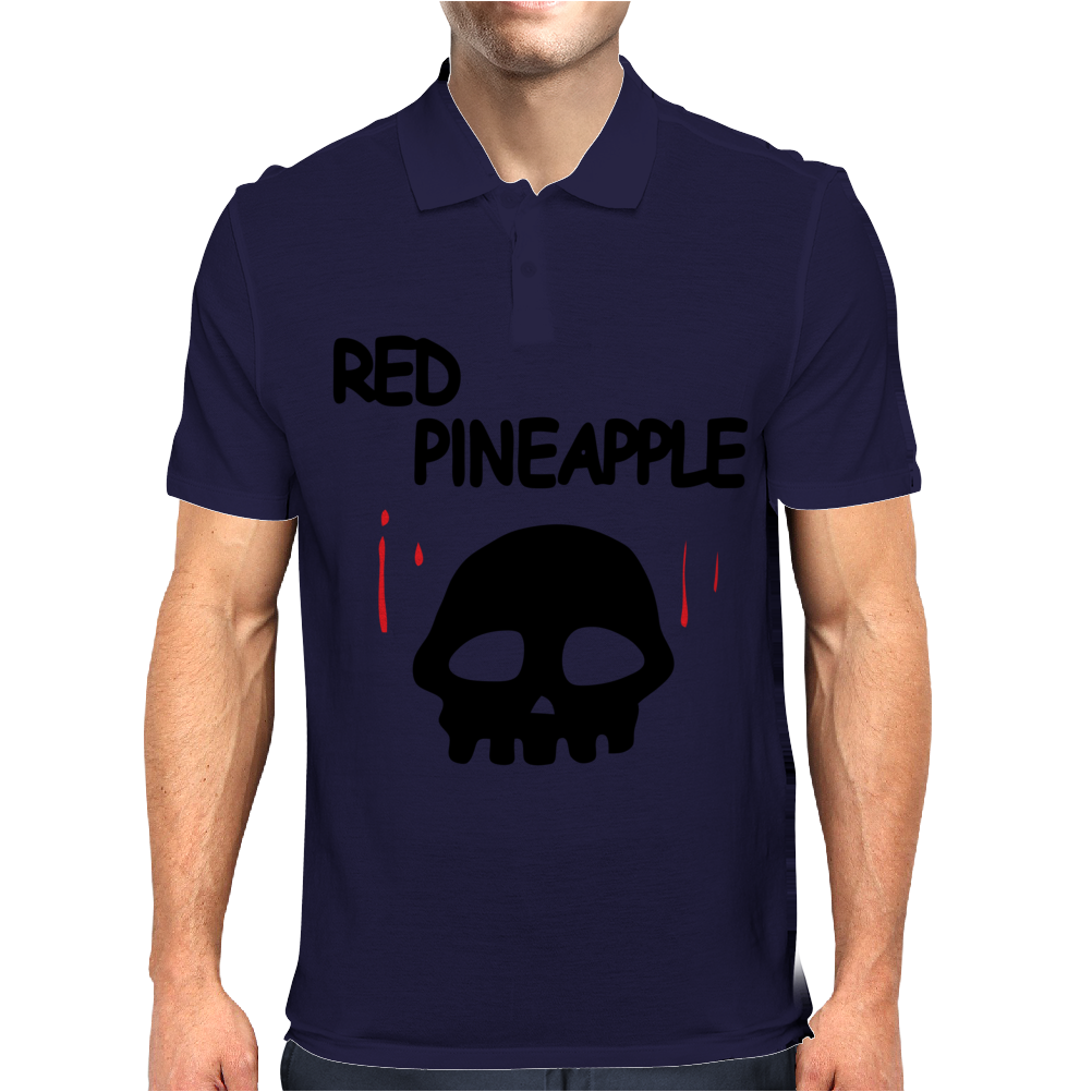 Red Pineapple Mens Polo