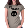 Red Pineapple Womens Fitted T-Shirt