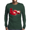 Red Skinhead Bovver Boots Ideal Birthday Gift or Present Mens Long Sleeve T-Shirt
