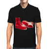 Red Skinhead Bovver Boots Ideal Birthday Gift or Present Mens Polo