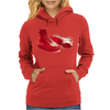 Red Skinhead Bovver Boots Ideal Birthday Gift or Present Womens Hoodie