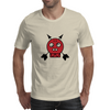 Red Skull Arrow Head Mens T-Shirt