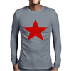 Red Star Army Mens Long Sleeve T-Shirt