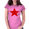 Red Star Army Womens Fitted T-Shirt