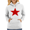 Red Star Army Womens Hoodie