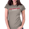 Red Tractor Girl Case IH Farm Womens Fitted T-Shirt