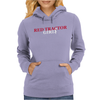Red Tractor Girl Case IH Farm Womens Hoodie