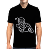 Reddit Motorcycle Alien Character Mens Polo
