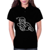 Reddit Motorcycle Alien Character Womens Polo