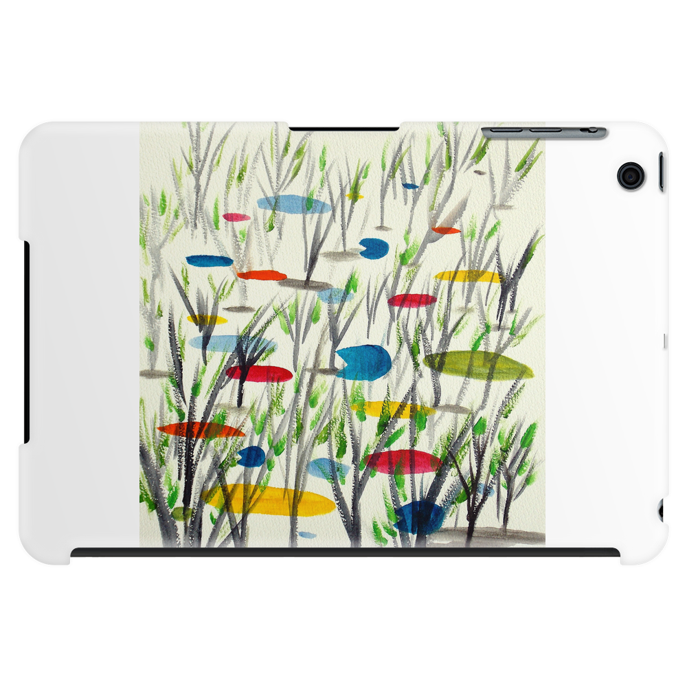 Reeds in Pond Tablet (horizontal)