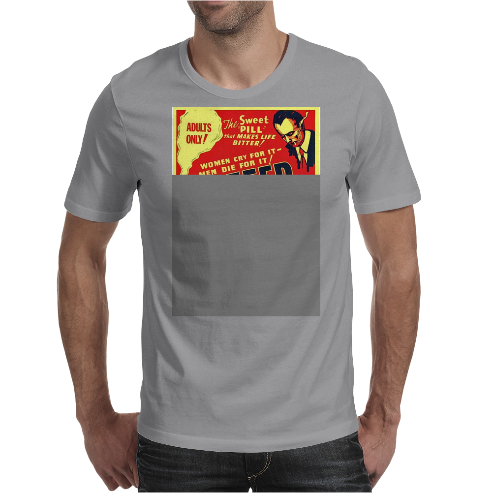 Reefer Madness Poster Mens T-Shirt