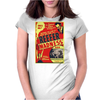 Reefer Madness Poster Womens Fitted T-Shirt