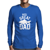 Reel Great Dad Mens Long Sleeve T-Shirt