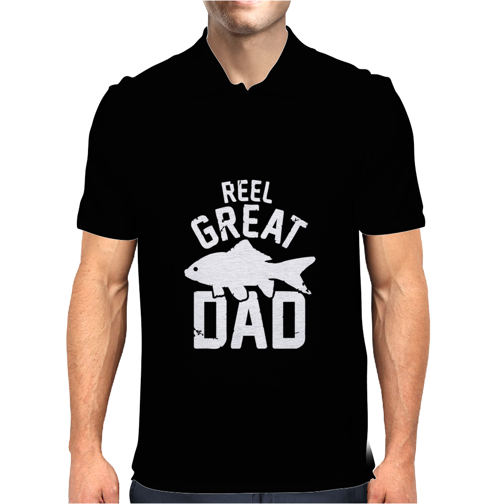 Reel Great Dad Mens Polo