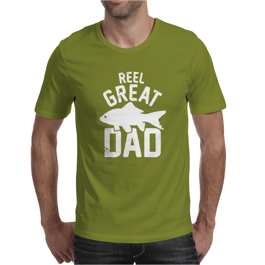 Reel Great Dad Mens T-Shirt