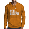 Reel Legend Funny Lure Father's Day Country Fishing Bass Humor Mens Hoodie