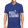 Reel Legend Funny Lure Father's Day Country Fishing Bass Humor Mens Polo