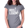 Reel Legend Funny Lure Father's Day Country Fishing Bass Humor Womens Fitted T-Shirt