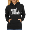 Reel Legend Funny Lure Father's Day Country Fishing Bass Humor Womens Hoodie
