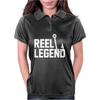Reel Legend Funny Lure Father's Day Country Fishing Bass Humor Womens Polo