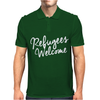 Refugees Welcome Mens Polo