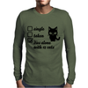 Relationship Mens Long Sleeve T-Shirt
