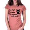Relationship Womens Fitted T-Shirt