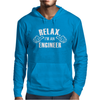 Relax This Guy is an Engineer Mens Hoodie