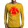 Relaxed Giraffe Mens Long Sleeve T-Shirt
