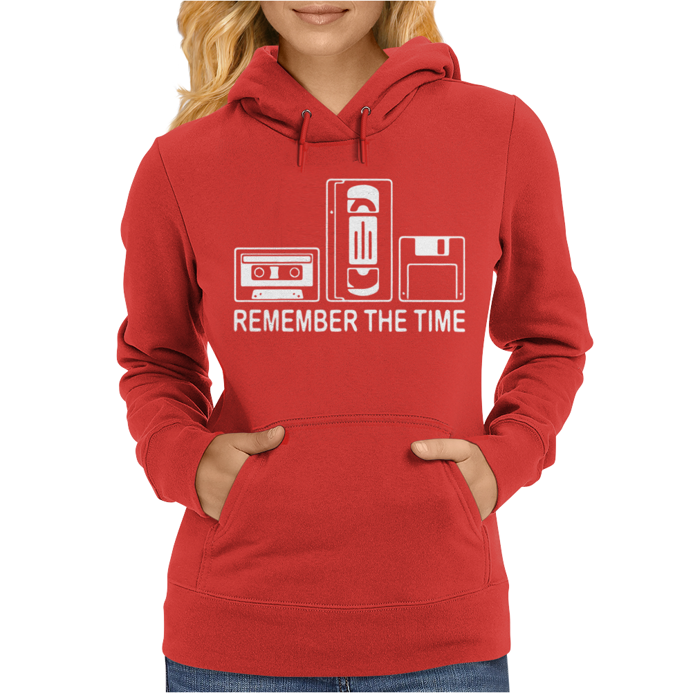 Remember The Time Womens Hoodie
