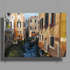 Remembering Venice - Canvas Painting Poster Print (Landscape)