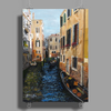 Remembering Venice - Canvas Painting Poster Print (Portrait)