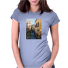 Remembering Venice - Canvas Painting Womens Fitted T-Shirt