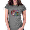 Remilia Scarlet vs Meiling Hong Womens Fitted T-Shirt