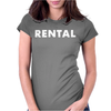 Rental Womens Fitted T-Shirt