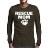 Rescue Mom Mens Long Sleeve T-Shirt