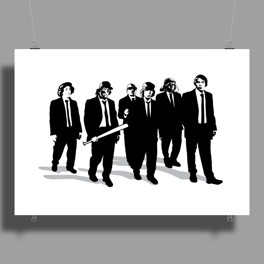 Reservoir Warriors Poster Print (Landscape)