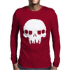Resistance Inspired Skull Mens Long Sleeve T-Shirt