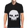 Resistance Inspired Skull Mens Polo