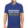 Resistance Is Not Futile Mens Polo
