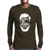 Respect The Beard Mens Long Sleeve T-Shirt