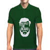 Respect The Beard Mens Polo